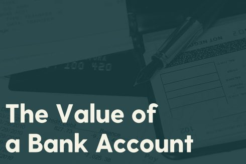 The Value of a Bank Account